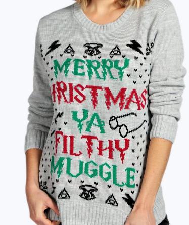 erin-ya-filthy-muggle-christmas-jumper