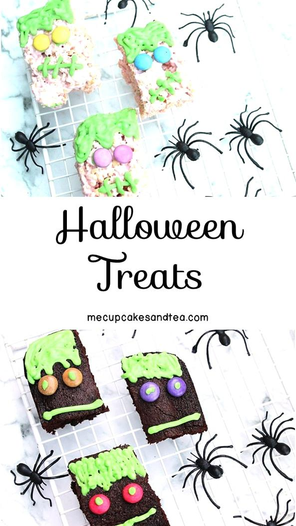 Halloween Baking - 2 Quick Treats - Looking for some quick and easy Halloween food? These two treats are tasty and don't require a lot of work.